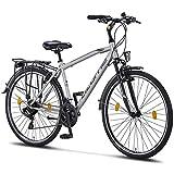 Licorne Bike Premium Trekking Bike in 28 Zoll - Fahrrad für Herren, Jungen, Damen und Herren - 21 Gang-Schaltung - Herren Citybike -...