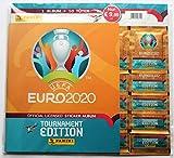 UEFA EURO 2020 Sammelsticker Starter-Set: Starter-Set mit Album und 10 Stickertüten