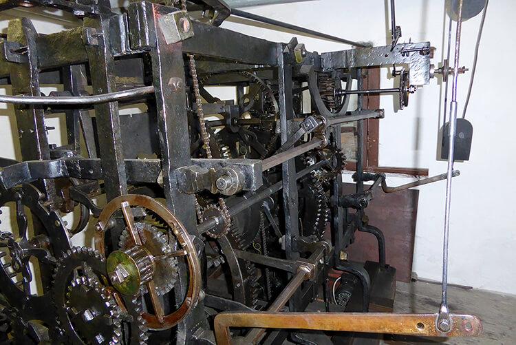 Das Uhrwerk des Grazer Uhrturms