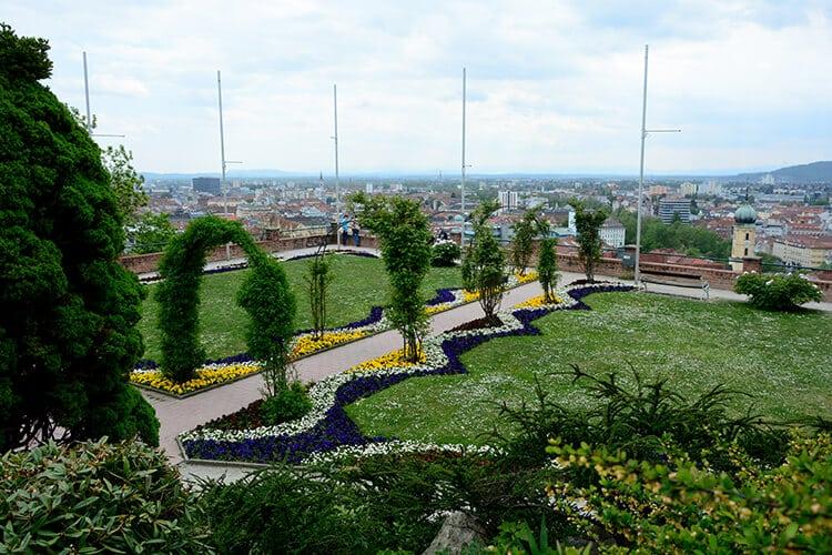Gartenanlagen am Grazer Schloßberg