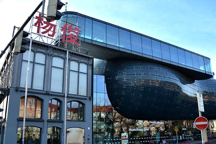Das Kunsthaus Graz