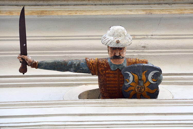 Die Türkenfigur im Palais Saurau