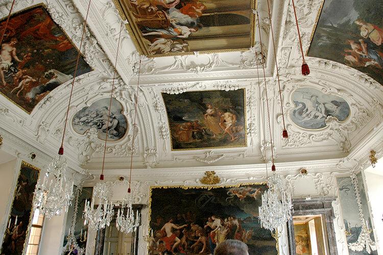Deckenmalerei im PLanetensaal des Schloss Eggenberg