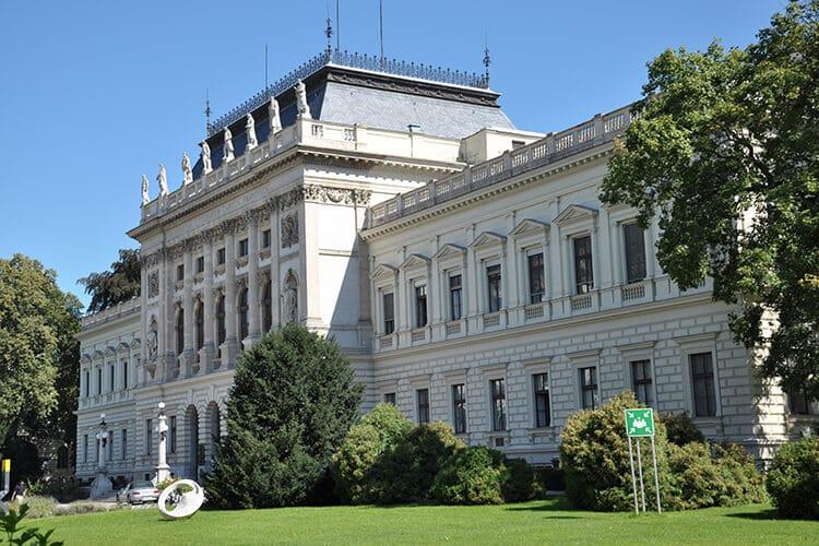 Das Hauptgebäude der Karl-Franzens-Universität