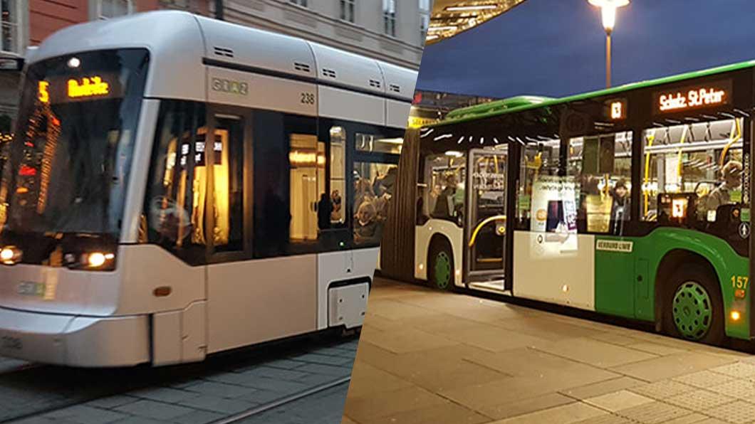 Öffentlicher Verkehr in Graz