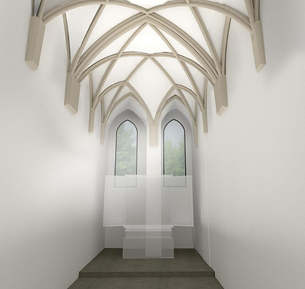"""Der """"Masterplan Grazer Burg"""" sieht unter anderem auch eine Sanierung und Adaptierung der Burgkapelle vor."""