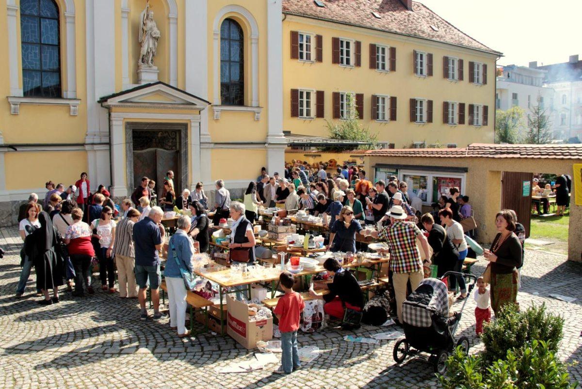 Grabenkirche Flohmarkt Graz